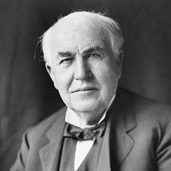 Thomas Edison Headshot